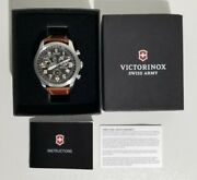 Sold Out Victorinox Swiss Army 241314 Infantry Vintage Chronograph Watch 795