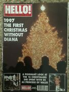 Princess Diana Hello Magazine 490 Christmas 1st Without Her 1998 + Free Dvd