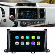 9 Inch Car Stereo Radio Android 9.1 Gps Obd Bt Dab For Toyota Sienna 2011-2014
