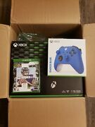 Microsoft Xbox Series X 1tb Console With Shock Blue Controller And Madden 🏈