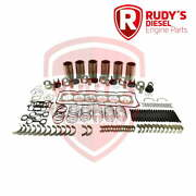 Detroit 60 Series 14l Piston-less Engine Kit With Head Bolts And Thermostats