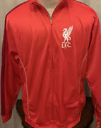Liverpool Fc Zip Up Track Jacket Lfc Nwt Menandrsquos Large