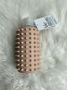 Bkr Spiked Naked The Little Glass Water Bottle 16 Oz 500ml Pink