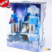 New Disney Store Magical Cinderella Castle Light Up Playset Need New Batteries