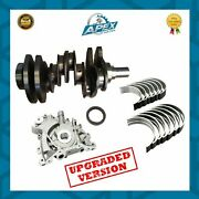 Range Rover 3.0 Crankshaft + 306dt Engine Main And Conrod Bearings Set And Oil Pump