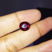 2.5cts Top Luster Pigeon Blood Natural Unheat 9x7mm Red Spinel Loose Gemstone