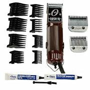 Oster Classic 76 Hair Clipper Bundle - 2 Items, Includes Pack Of 8 Plastic Comb