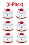 6 Pack 100g Isobutane Butane-propane Fuel Blend Canister Camping Cooking Stove