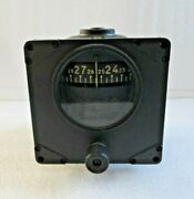Jack And Heintz Directional Gyro Indicator P/n Jh5500 Old Ohc Yellow Tag