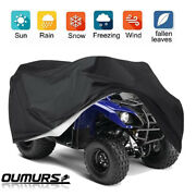 Universal Atv Cover Waterproof Uv Rain Dust Resistant All Weather Protection Xxl
