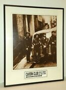 Beatles Autographed Offset Lithograph By Pete Best Low Cavern Club Coa Nice