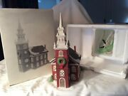 Dept 56 Old North Church New England Series Free 📦 Shipping