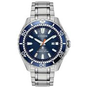 Citizen Eco-drive Promaster Diver Menand039s Date Display 45mm Watch Bn0191-55l