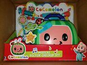 👶🩺 New Cocomelon Musical Doctor Check Up Case Set Toy 🩺 Free Shipping