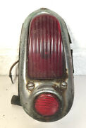 Vintage 1949 1950 Chevrolet Taillight Assembly Complete W Reflector
