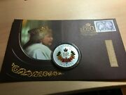 Canada 50 Cent Coin And Stamp Queen Elizabeth Ii 60 Years