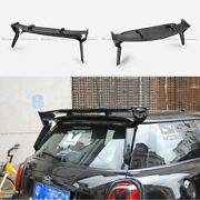 For Mini Coooper F56 Carbon Fiber Gm Style Rear Roof Spoiler Wing Bodykits