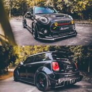 For Mini Cooper S S Only F56 Tp Style Carbon Fiber Side Skirt Underboard Panel