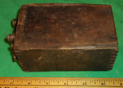 Vintage Model A/t Ford Old Buzz Box Antique Dovetail Wood Ignition Coil 3.29k