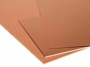 Copper Sheet 0 5/32in-0 1/4in Panels Metal Selectable 3 15/16in To 39 3/8in