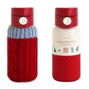 2020 China Starbucks 12oz Christmas Sweater Stainless Steel Thermos Cup
