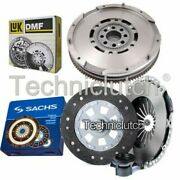 Sachs 3 Part Clutch Kit And Luk Dmf For Bmw 5 Series Berlina 528i