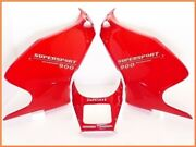 1997 900ss Genuine Upper And Left Right Under Fairing Cowl Set 400ss 900sl Yyy