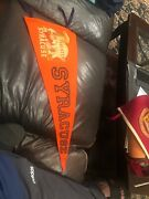 Vintage Syracuse Foresters Extremely Rare Pennant 1930s Old None On Ebay