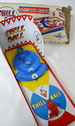Vintage Marx Skee Skill Ball Action Game Tin Lithograph Made In The Usa Working