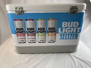 Bud Light Seltzer Cooler With Handle New Open Box