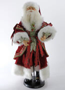 """Katherine's Collection Wishes 36"""" Santa Doll 11-911525 New Christmas 2020"""