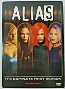 Alias The Complete First Season 1 One 6-disc Dvd Box Set Tested