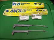 Anco Adjustable Windshield Wiper Arms Part No 41-01 1 Pair Nos