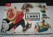 Retired New Nintendo Switch Labo Vehicle Kit Toycon 03 Video Game Build Bundle