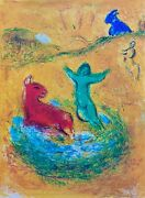 The Wolf Trap Daphnis And 1977 Limited Edition Marc Chagall