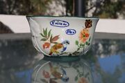 Anthropologie Nathalie Lete Butterfly/hummingbird Bowl - New