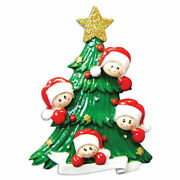 Diy Personalized Hanging Christmas Tree Ornaments Family Of 2 3 4 5 6 7 8 Faces
