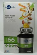 Insinkerator By Emerson Model 66 Food Waste Disposer 240v Brand New