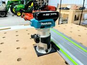 Makita Router Adapter To Festool Track Saw Guide Rail - Makita Xtr01z And Rt0700c