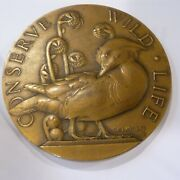 1938 The Society Of Medalists Eighteenth Issue 2 7/8 Bronze Medal Medallic Art