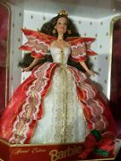 Special Edition 10th Anniversay 1997 Barbie Doll Holiday Rare Limited Disney Ltd