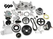 Holley 20-180 Premium Mid Mount Complete Ls Accessory Kit