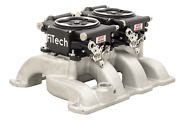 Fitech 30062 Go Efi System 2 Andtimes 4 625 Hp Dual Quad Fuel Injection Conversion Kit
