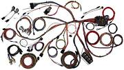 1967-68 Ford Mustang Classic Update American Autowire Wiring Harness Kit 510055