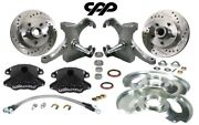 1960-62 Chevy C10 Gmc Truck D52 Wilwood Disc Brake Conversion Kit Drop Spindle