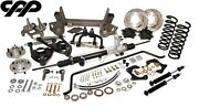 37-39 Chevy Master Gmc Truck Cpp Mustang Ii Front Ifs Suspension Conversion Kit