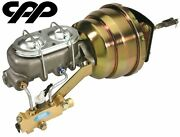 1965-70 Chevy Impala Belair Brake Booster Kit Complete 8 Dual Disc / Disc