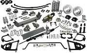 53-56 Ford 1/2 Ton Truck Ultimate Performance Package Mustang Ii Drop Spindles