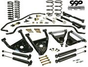 64-66 Chevy Chevelle Cpp Pro Touring Kit Tubular A Arms Sway Bar Shocks Springs