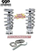 68-82 Chevy Corvette Coilover Conversion Kit Double Adjustable Coil Over 450lbs